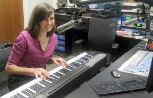 Kristin at Piano